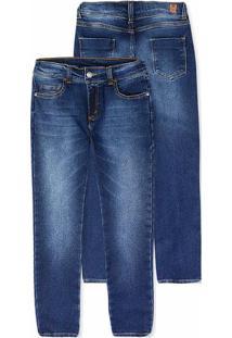 Calça Jeans Infantil Menino Com Elastano Hering Kids