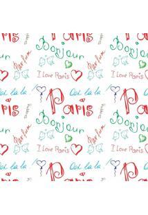 Papel De Parede Adesivo Cute Paris (0,58M X 2,50M)