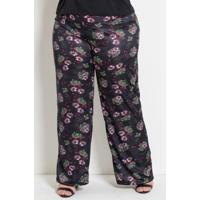 1845d46325b124 Plus Size Cintura Alta Floral feminino | Shoes4you