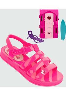6ce1b9939 Sandália Infantil Barbie Dreamhouse Brinde Grendene Kids 21832