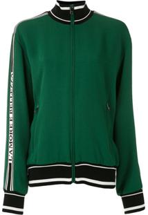 Dolce & Gabbana Jaqueta Bomber Com Logo - Verde