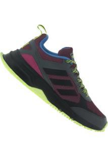 Tênis Adidas Rockadia Trail 3.0 - Feminino - Vinho/Preto
