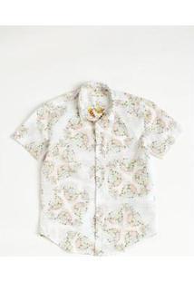 Camisa Mini Sm Onça Mc Infantil Reserva Mini Masculina - Masculino