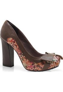 Sapato Fem Tanara 3201 Caramelo