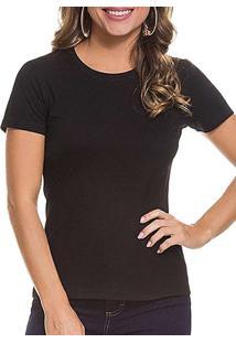 Camiseta Feminina Malwee 1000004499 00004-Preta