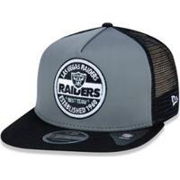 466e25515e Boné 950 Original Fit Oakland Raiders Nfl Aba Reta Snapback New Era -  Masculino