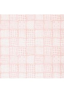 Papel De Parede Figuras Rosa Quadriculado 8028 Bobinex