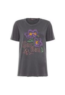 Camiseta Feminina Katia - Cinza