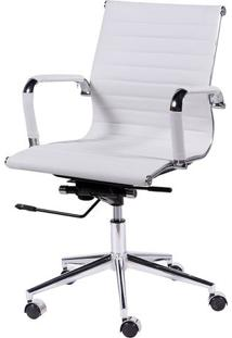 Cadeira Office Eames Esteirinha- Branca- 101X60X53Cmor Design