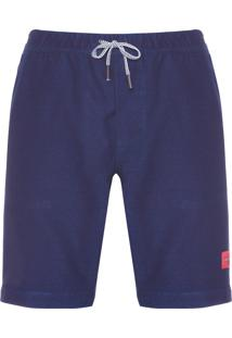 Bermuda Masculina Jeans Chino - Azul