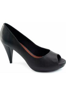04c49ca95c Peep Toe Sapato Show Numeração Especial - Feminino