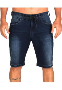 Bermuda Jeans Lost Relaxed Special Washed - Kanui