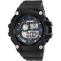 788b9225c72 Marisa. Relógio Masculino Digital Mormaii Mo3530A8A