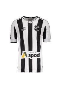 Camisa Ceará I 2016 Com N.10 Topper Tamanho Especial Plus Size - 4137646-133