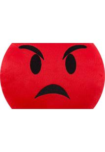 Almofada Capital Do Enxoval Emoji Raiva Estampado