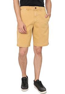 Bermuda Sarja Gap Chino Color Amarela