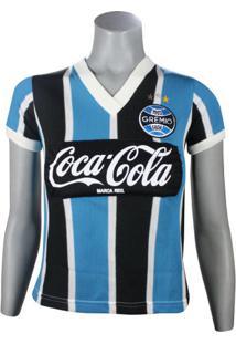 Camiseta Feminina Dilva Oldoni Grêmio Retro 1989