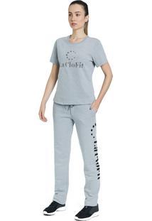 T-Shirt La Clofit Basic Cinza
