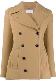 Chloé Double-Breasted Jacket - Neutro