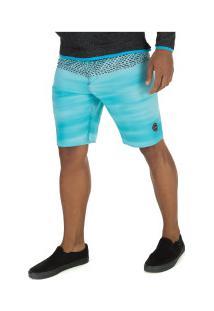 Bermuda O'Neill Sublimado 8733A - Masculina - Azul