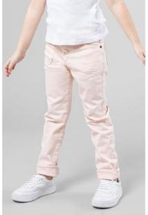 Calça Color Bolsos Frente Reserva Mini Feminina - Feminino