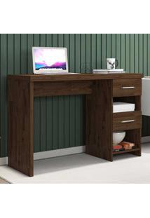 Mesa Para Computador 2 Gavetas Duna New Rustic - Móveis Germai