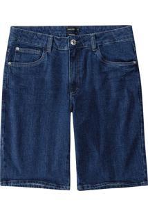 Bermuda Jeans Tradicional Cintura Alta Malwee
