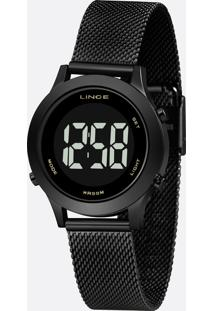 Relógio Feminino Digital Lince Sdph112L Pxpx