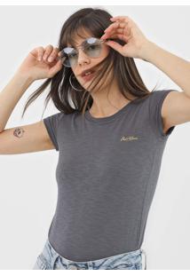 Camiseta Polo Wear Flamê Cinza - Kanui