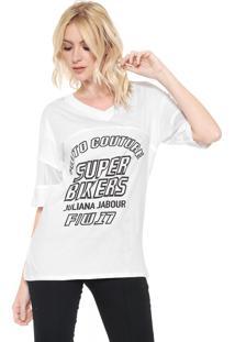 Camiseta Lez A Lez Bikers Branca