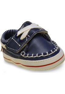 Sapato Masc Infantil Klin 418.938 Marinho/Vermelho