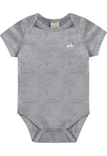 Body Bebê Masculino Mescla