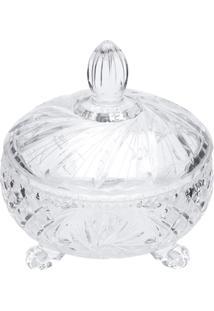 Bomboniere Prima De Cristal Luxo 23X24,5 Cm - Unissex