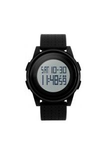 Relógio Skmei Digital -1206- Preto E Branco