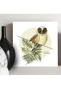 Quadro - Botanical Owl