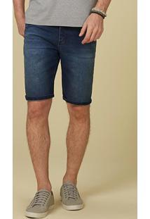 Bermuda Azul Jeans Cintura Alta