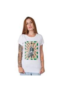 Camiseta Janis Joplin Collage Branco