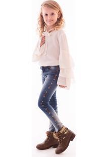 Calça Mrx Jeans Inverno Azul - Tricae