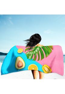 Toalha De Praia / Banho Colorful Summer