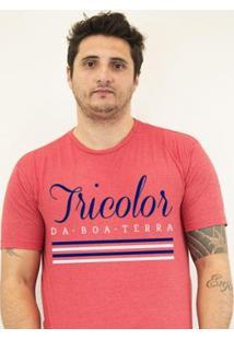 Camiseta Zé Carretilha - Bah-Tricolor-Boaterra Masculino - Masculino