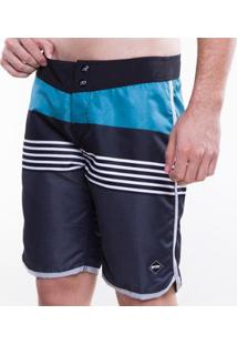 Boardshort Mormaii Sublimado Color Emotion Masculino - Masculino-Azul
