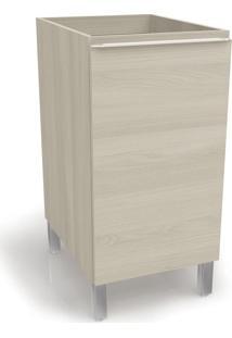 Balcão De Cozinha Versatti 1 Porta C651 Nacre - Kappesberg