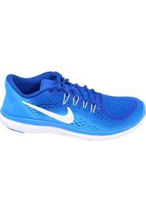 Tênis Masculino Corrida Flex 2017 Nike Azul