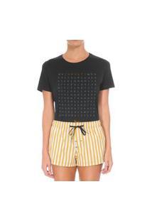 Camiseta Forseti Confort Caça Palavras Preta