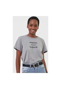 Camiseta Radiate Cinza