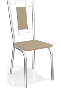 Conjunto Com 2 Cadeiras Florença Cromada 2C005 Kappesberg