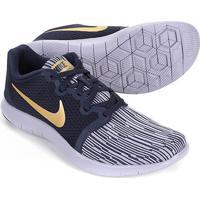 cf297658eda Tênis Nike Flex Contact 2 Feminino - Feminino-Preto+Dourado