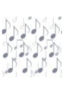 Papel De Parede Adesivo - Notas Musicais - 100Ppd