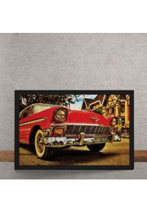 Quadro Decorativo Carro Chevrolet Muscle Car 25X35