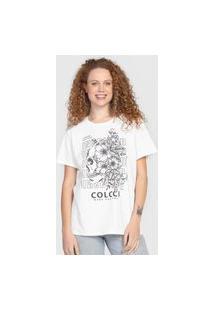 Camiseta Colcci Inspired Branca